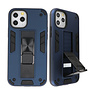 Stand Hardcase Backcover voor iPhone 11 Pro Navy