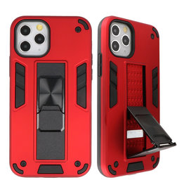 Stand Hardcase Backcover voor iPhone 11 Pro Rood