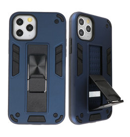 Stand Hardcase Backcover voor iPhone 11 Pro Max Navy