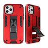 Stand Hardcase Backcover voor iPhone 11 Pro Max Rood
