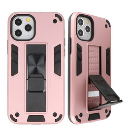 Stand Hardcase Backcover voor iPhone 11 Pro Max Roze
