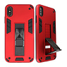 Stand Hardcase Backcover für iPhone X / Xs Red