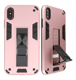 Stand Hardcase Backcover for iPhone X / Xs Pink