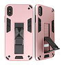 Stand Hardcase Backcover für iPhone X / Xs Pink