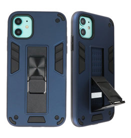 Stand Hardcase Backcover voor iPhone 12 Mini Navy