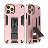 Stand Hardcase Backcover for iPhone 12 - 12 Pro Pink