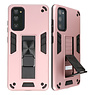 Stand Hardcase Backcover for Samsung Galaxy S20 FE Pink