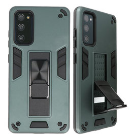 Stand Hardcase Backcover voor Samsung Galaxy S20 FE D.Groen