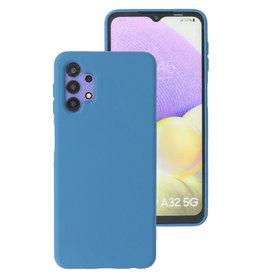 2.0mm Thick Fashion Color TPU Case Samsung Galaxy A32 5G Navy