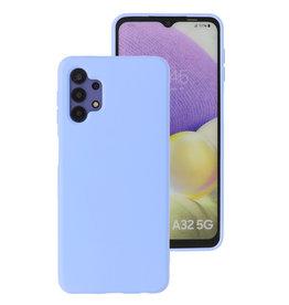2.0mm Thick Fashion Color TPU Case Samsung Galaxy A32 5G Purple