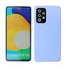 2.0mm Thick Fashion Color TPU Case Samsung Galaxy A52 5G Purple