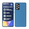 2.0mm Thick Fashion Color TPU Case Samsung Galaxy A72 5G Navy