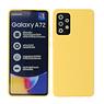 2.0mm Thick Fashion Color TPU Case Samsung Galaxy A72 5G Yellow