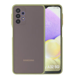 Color combination Hard Case Samsung Galaxy A32 5G Green