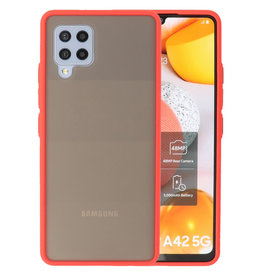 Color combination Hard Case Samsung Galaxy A42 5G Red