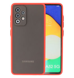 Color combination Hard Case Samsung Galaxy A52 5G Red
