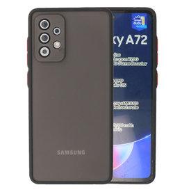 Color combination Hard Case Samsung Galaxy A72 5G Black