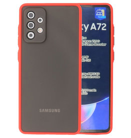 Color combination Hard Case Samsung Galaxy A72 5G Red