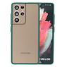 Color combination Hard Case Samsung Galaxy S21 Ultra Dark Green