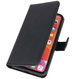 Klassiek Design Echt Leer Hoesje iPhone 11 Zwart