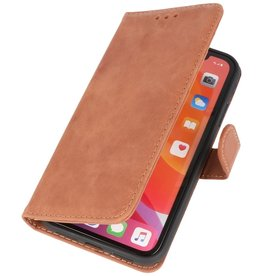 Klassiek Design Echt Leer Hoesje iPhone 11 Congnac