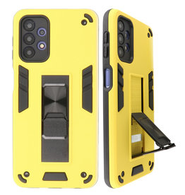 Stand Hardcase Backcover for Samsung Galaxy A32 5G Yellow