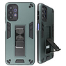 Stand Hardcase Backcover for Samsung Galaxy A32 5G Dark Green