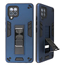 Stand Hardcase Backcover for Samsung Galaxy A42 5G Navy