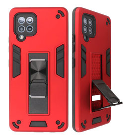 Stand Hardcase Backcover for Samsung Galaxy A42 5G Red