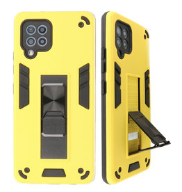 Stand Hardcase Backcover for Samsung Galaxy A42 5G Yellow