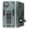 Stand Hardcase Backcover for Samsung Galaxy A42 5G Dark Green