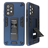 Stand Hardcase Backcover for Samsung Galaxy A52 5G Navy