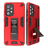 Stand Hardcase Backcover for Samsung Galaxy A52 5G Red