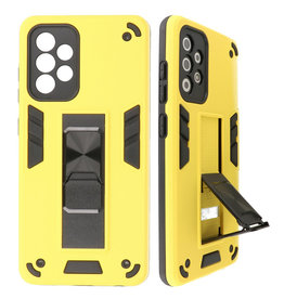Stand Hardcase Backcover for Samsung Galaxy A52 5G Yellow