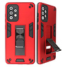 Stand Hardcase Backcover for Samsung Galaxy A72 5G Red