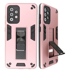 Stand Hardcase Backcover for Samsung Galaxy A72 5G Pink