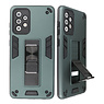 Stand Hardcase Backcover for Samsung Galaxy A72 5G Dark Green