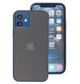 Kleurcombinatie Hard Case voor iPhone 12 Mini Zwart