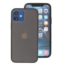 Kleurcombinatie Hard Case voor iPhone 12 Mini Blauw