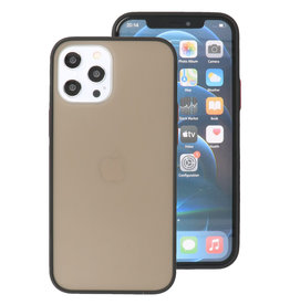 Color Combination Hard Case for iPhone 12 Pro Max Black