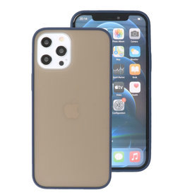 Kleurcombinatie Hard Case voor iPhone 12 Pro Max Blauw