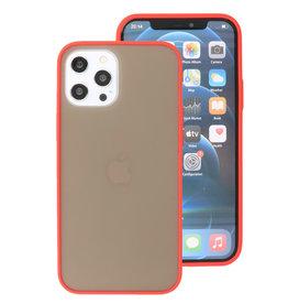 Kleurcombinatie Hard Case voor iPhone 12 Pro Max Rood