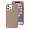 Color Combination Hard Case for iPhone 12 Pro Max Red