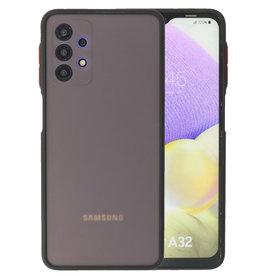 Color Combination Hard Case Samsung Galaxy A32 4G Black