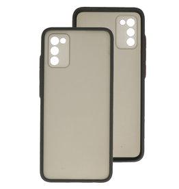 Color Combination Hard Case Samsung Galaxy A02s Black