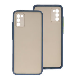 Color Combination Hard Case Samsung Galaxy A02s Blue