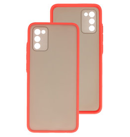 Color Combination Hard Case Samsung Galaxy A02s Red