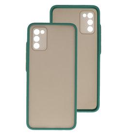 Color Combination Hard Case Samsung Galaxy A02s Dark Green