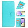 Bookstyle Wallet Cases Hoesje voor Samsung Galaxy A10 Groen