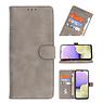Bookstyle Wallet Cases Hoesje voor Samsung Galaxy A21s Grijs